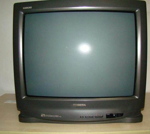 21寸东芝彩色电视机300元转啦