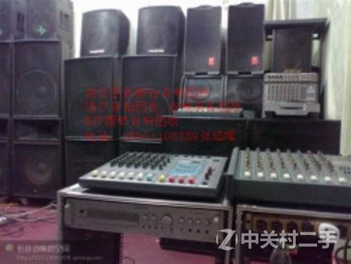ktv酒吧包厢音响功放设备回收大舞台发烧音响功放回收