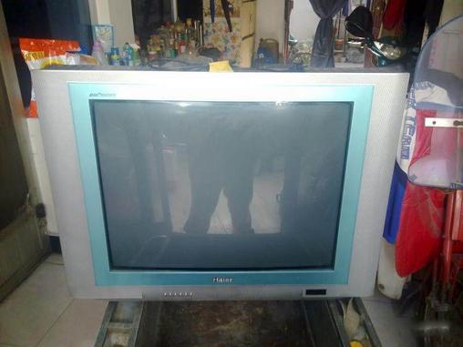 转让海尔彩色电视机-crt普通电视-二手库-中关村在线