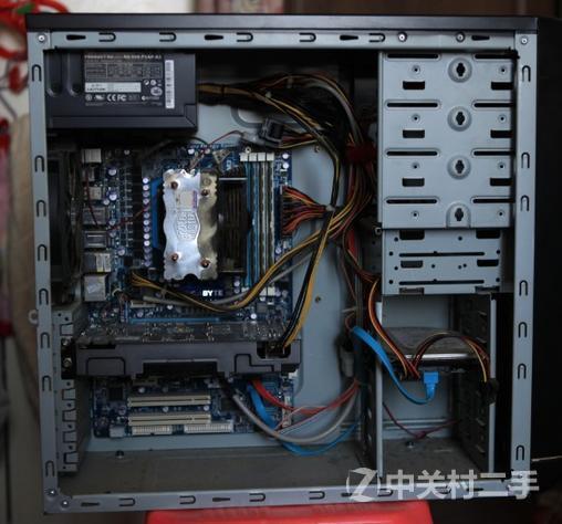 个人转让:4核8g台式电脑主机