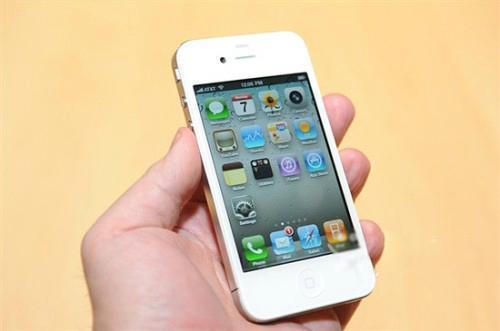 7月1号买的iphone4 白色 16g