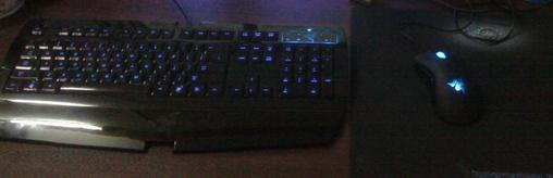 打包出 自用 黑腹狼蛛键盘 炼狱蝰蛇鼠标.