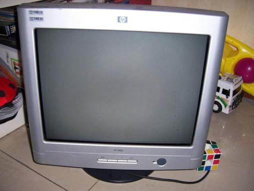 惠普17寸纯平显示器