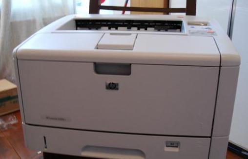 hp5200lx打印机插在电脑上不识别?