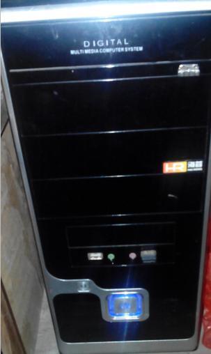 1700转让台式电脑主机是组装的三星屏幕21寸